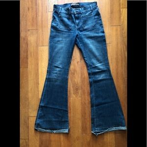 Express bell flare jeans
